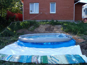 install  inflatable  Pool №9198