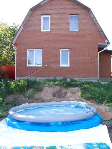 Aufblasbar  Lache    Landhaus №9199
