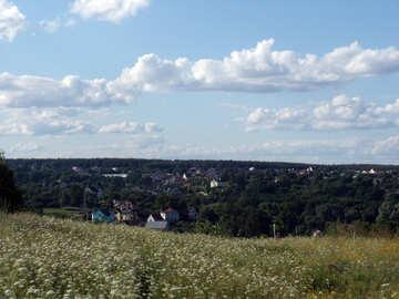 Rural  panorama №9619