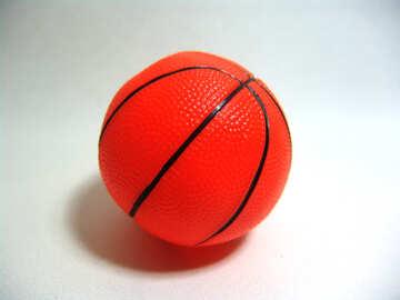 Игрушечный баскетбольный мяч №9248