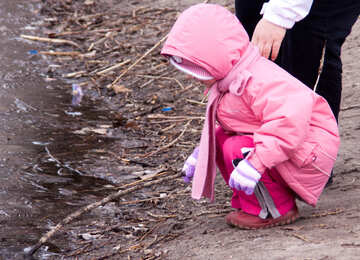 Child  and  ice №9066