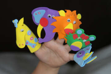 Toys  for  fingers №9558