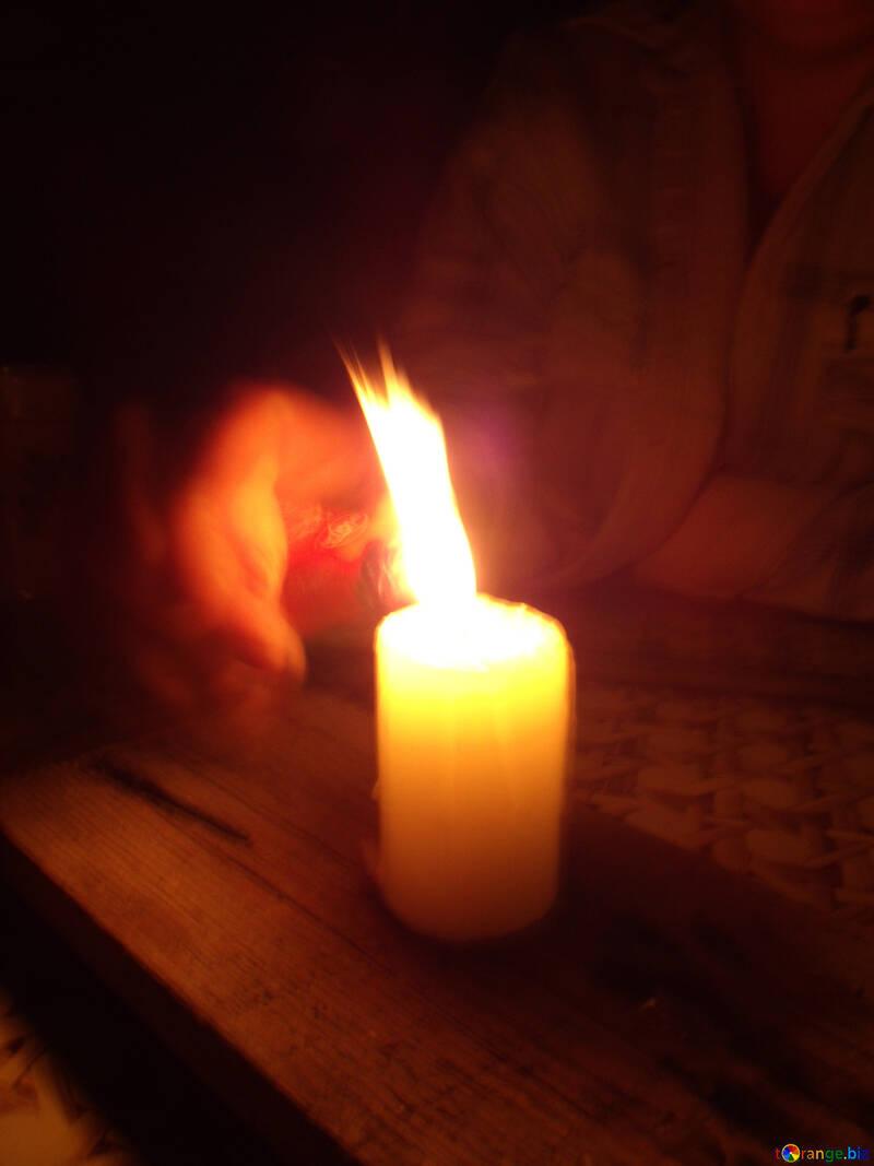 Near  Candles №9541