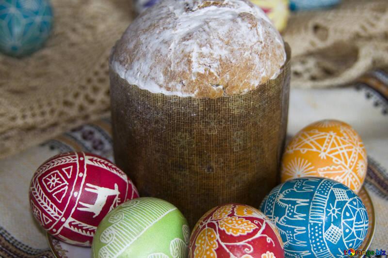 Easter  cake №9706