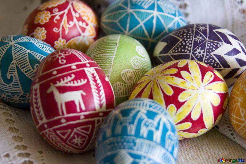 Easter  eggs №9685