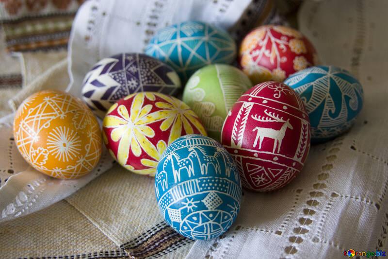 Easter  eggs №9704