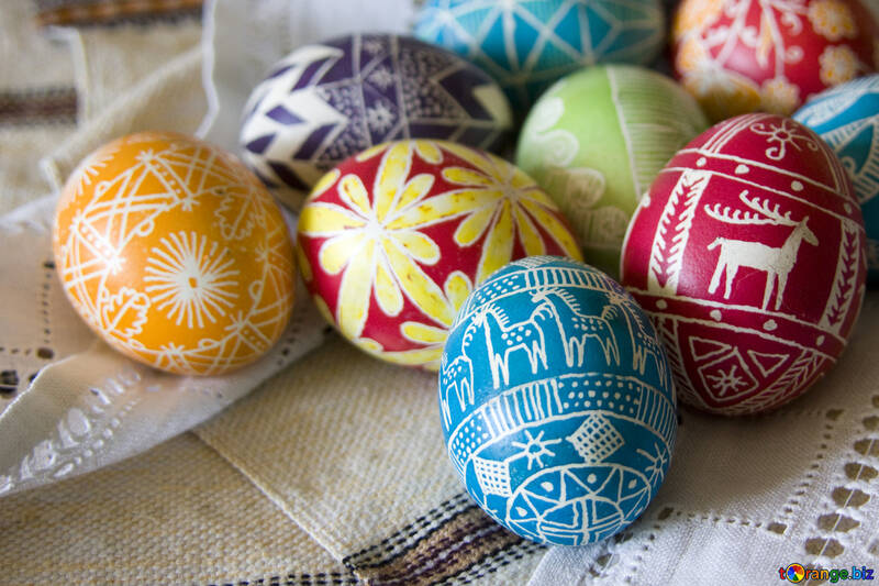 Easter  eggs №9707