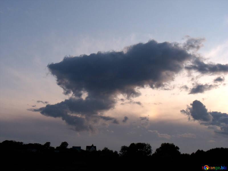 Tramonto  nube №9615
