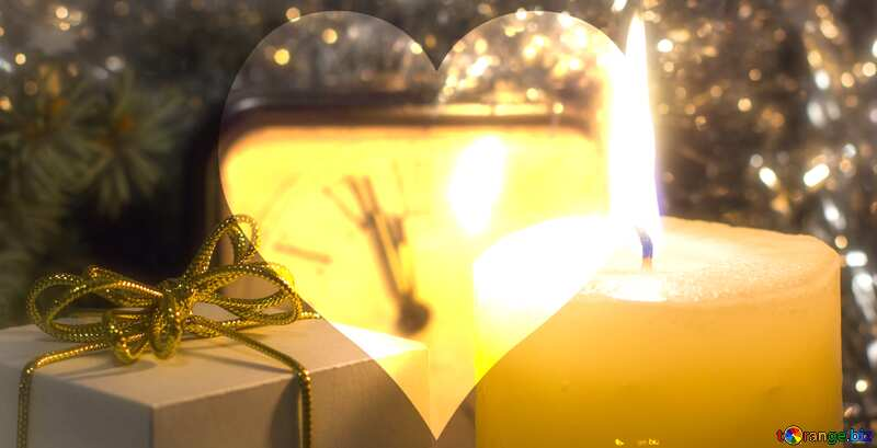 Christmas heart №15379