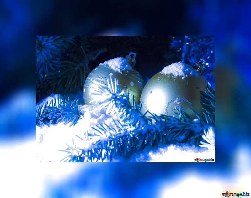 Christmas fuzzy border frame №15371