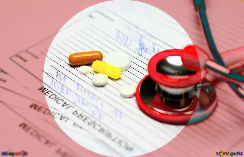 Prescription drugs infographic presentation template №19689