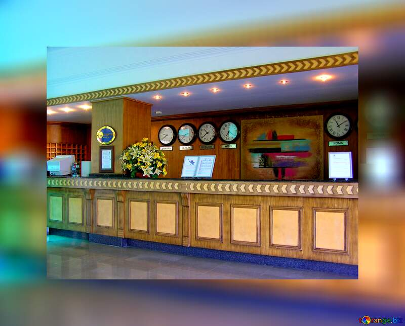 The hotel reception watch №21763