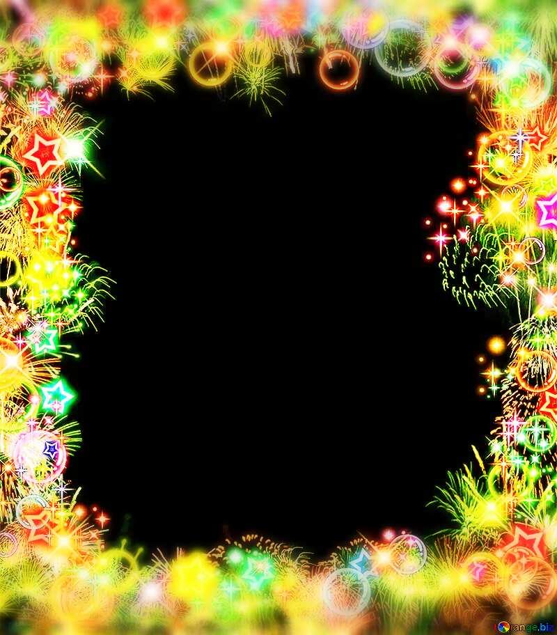 Frame top bottom blurring frame №39964