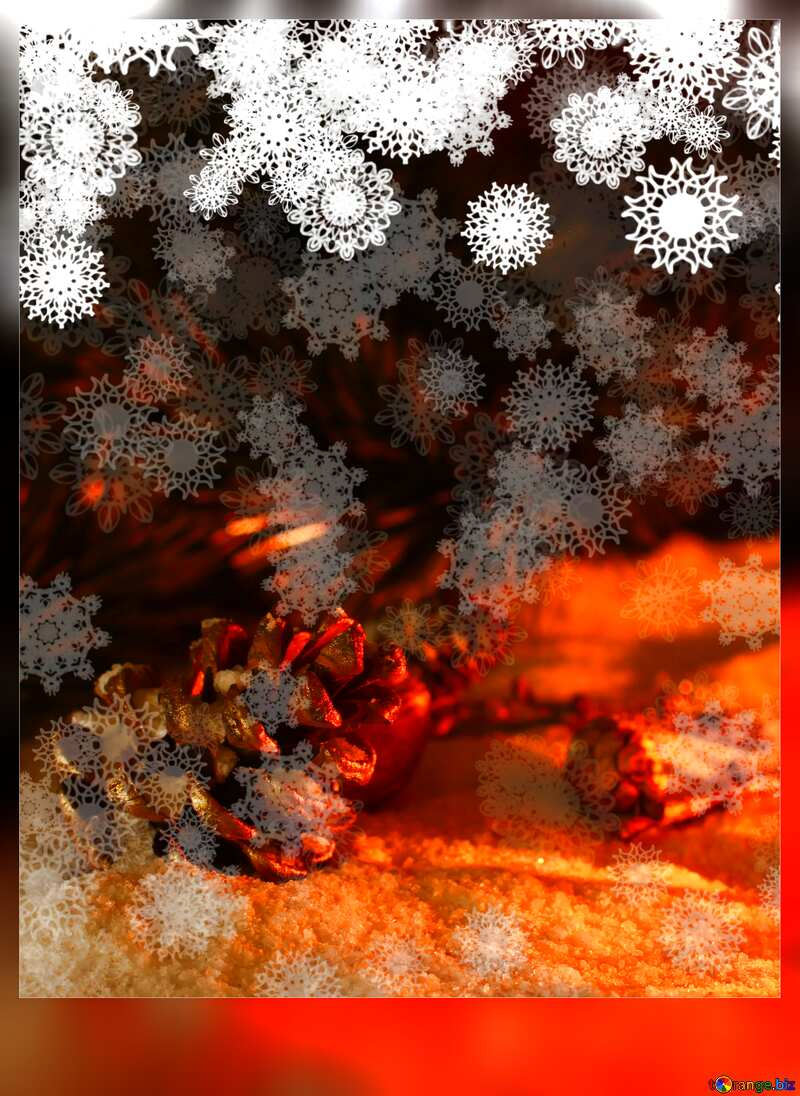 Christmas motivations card  №40663