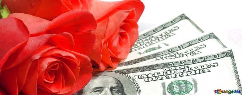 Деньги и цветы №7269