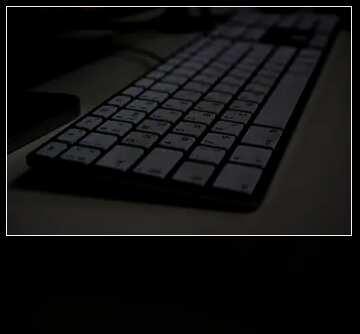 The effect of the dark. Blur dark frame.
