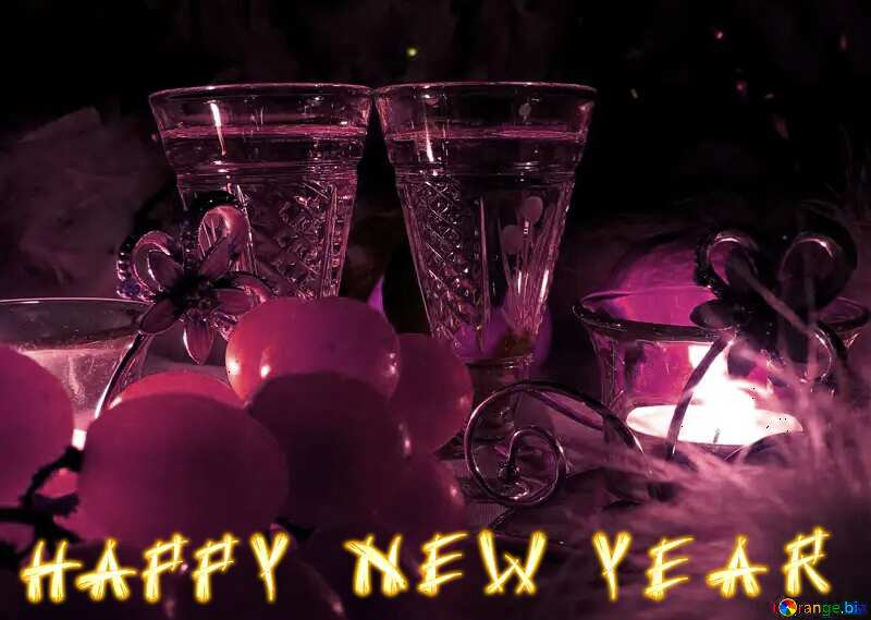 happy new year candlelight №15167