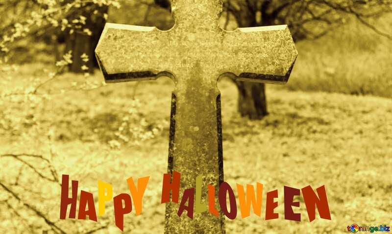 happy halloween  old tomb №39887