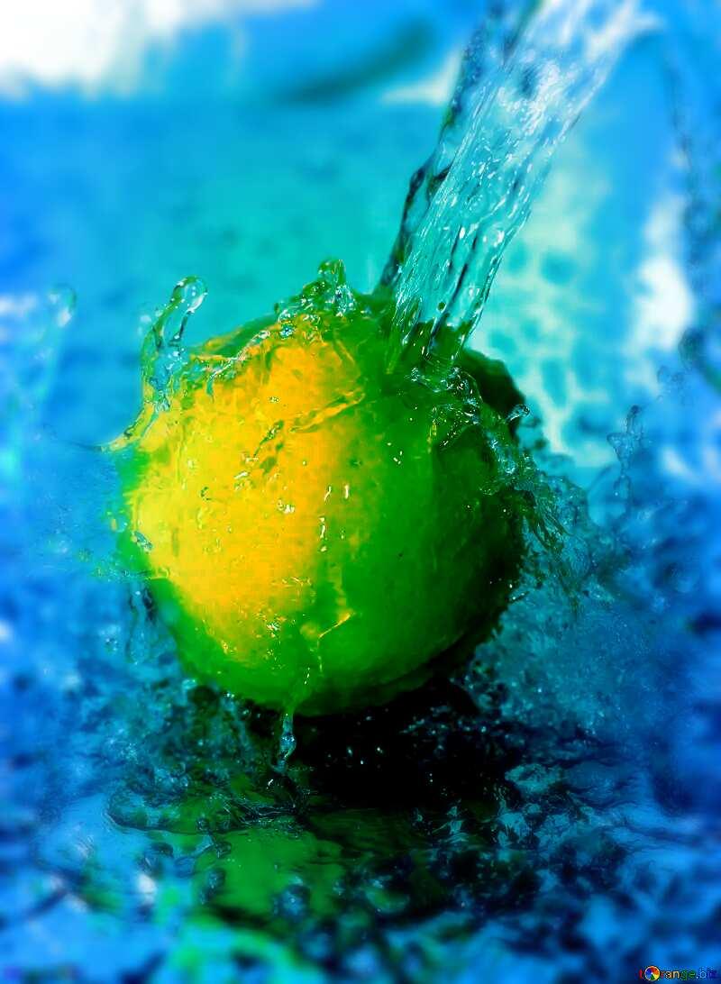 Lemon water №30862