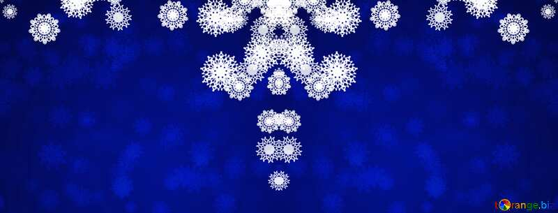 Christmas background background blue №40710