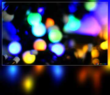 The effect of the dark. Very Vivid Colours. Blur dark frame.
