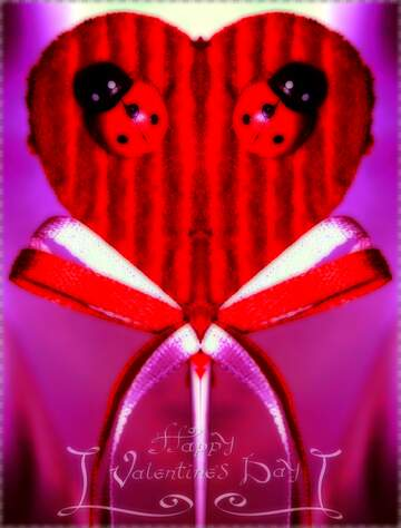 Effect upside down. The effect of light. Very Vivid Colours. Fragment. Pattern. Happy Valentine's Day.