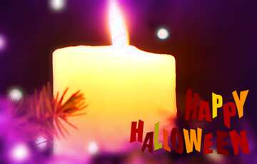 The effect of light. Vivid Colors. Blur frame. Fragment. Happy halloween.