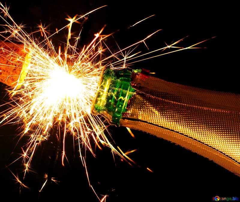birthday champagne №25650