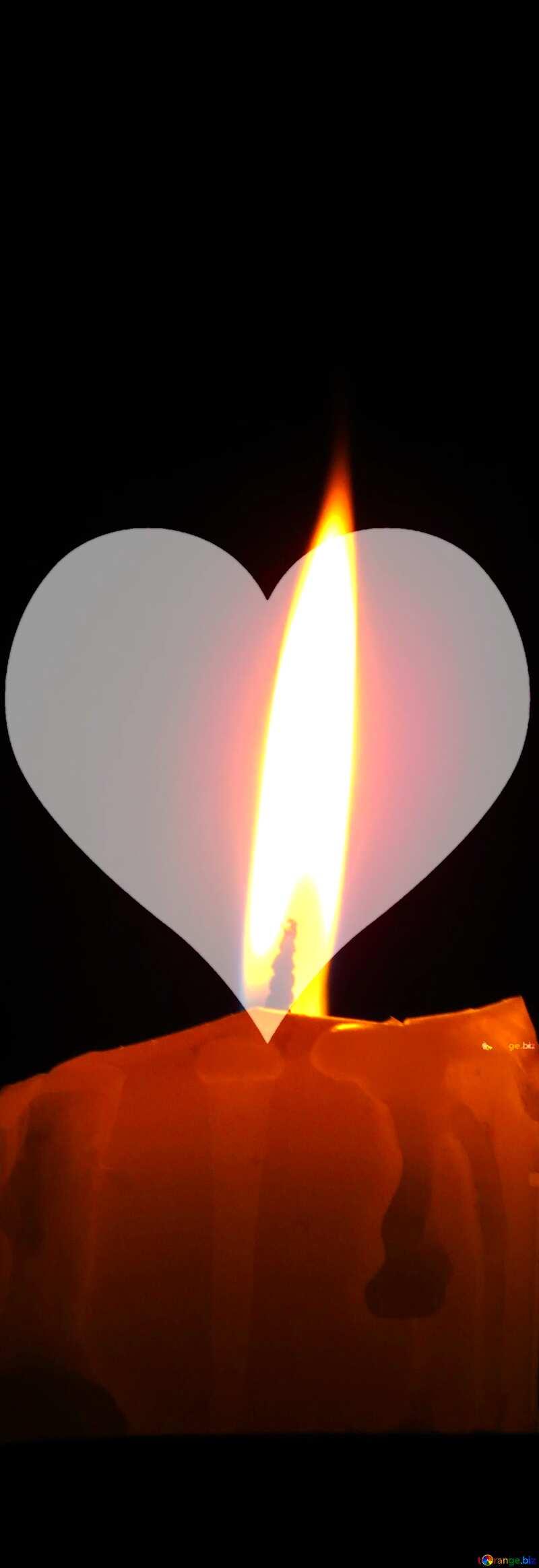 flamme de Bougie №17412