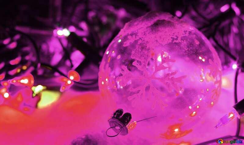 紫色 圣诞及新年替 facebook. №37910