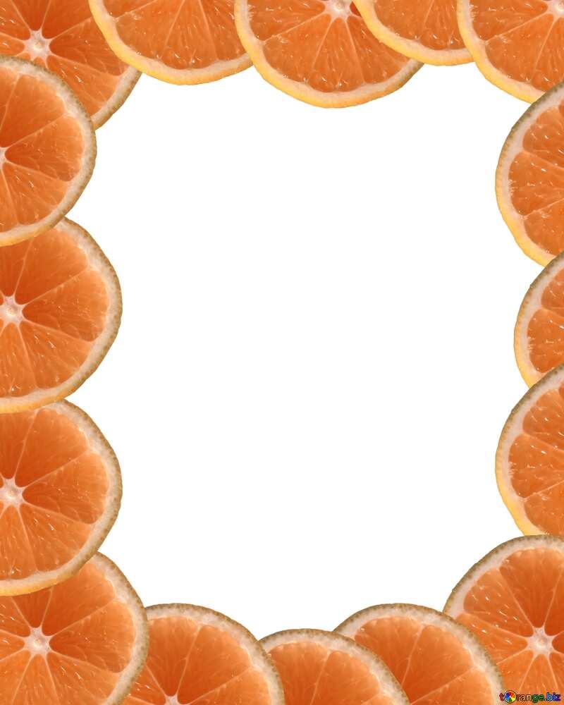 Рамка мандарин №40849