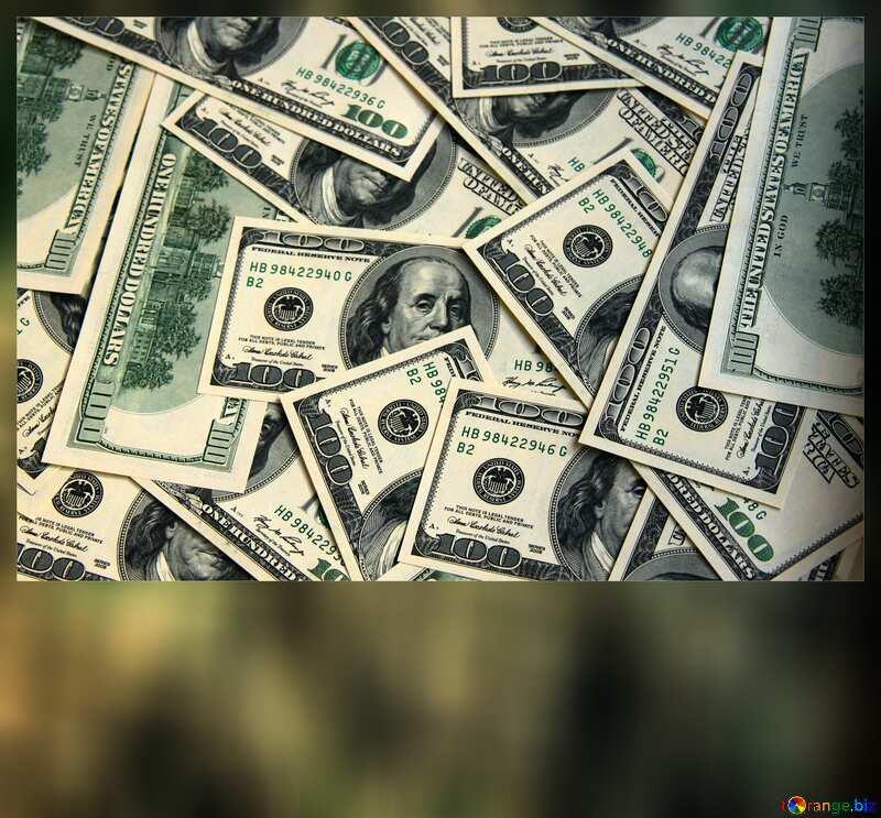 Dollars card №1507