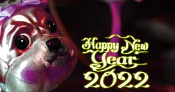 The effect of light. The effect of stained red. Blur frame. Fragment. Happy New Year 2020.