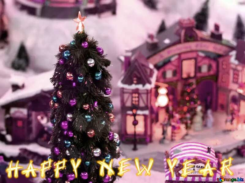 happy new year Christmas story card №49592