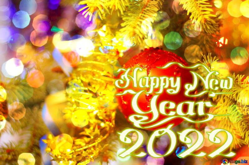 Background for happy new year 2022 №18355