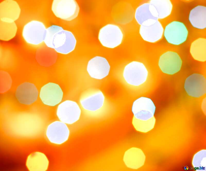 Bokeh lights background     №24617