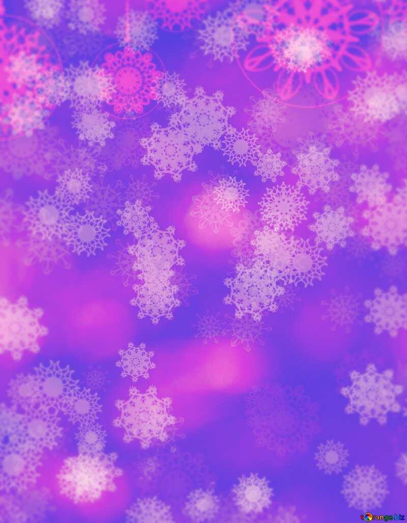 Snowflakes №40734