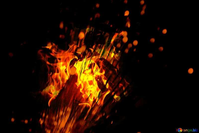 Optical fiber fire background №41330