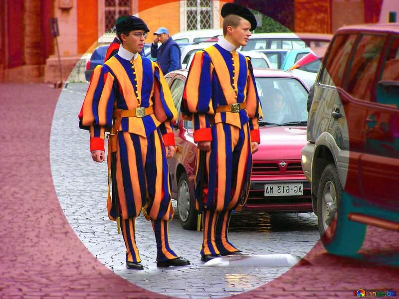 Swiss Guards №309