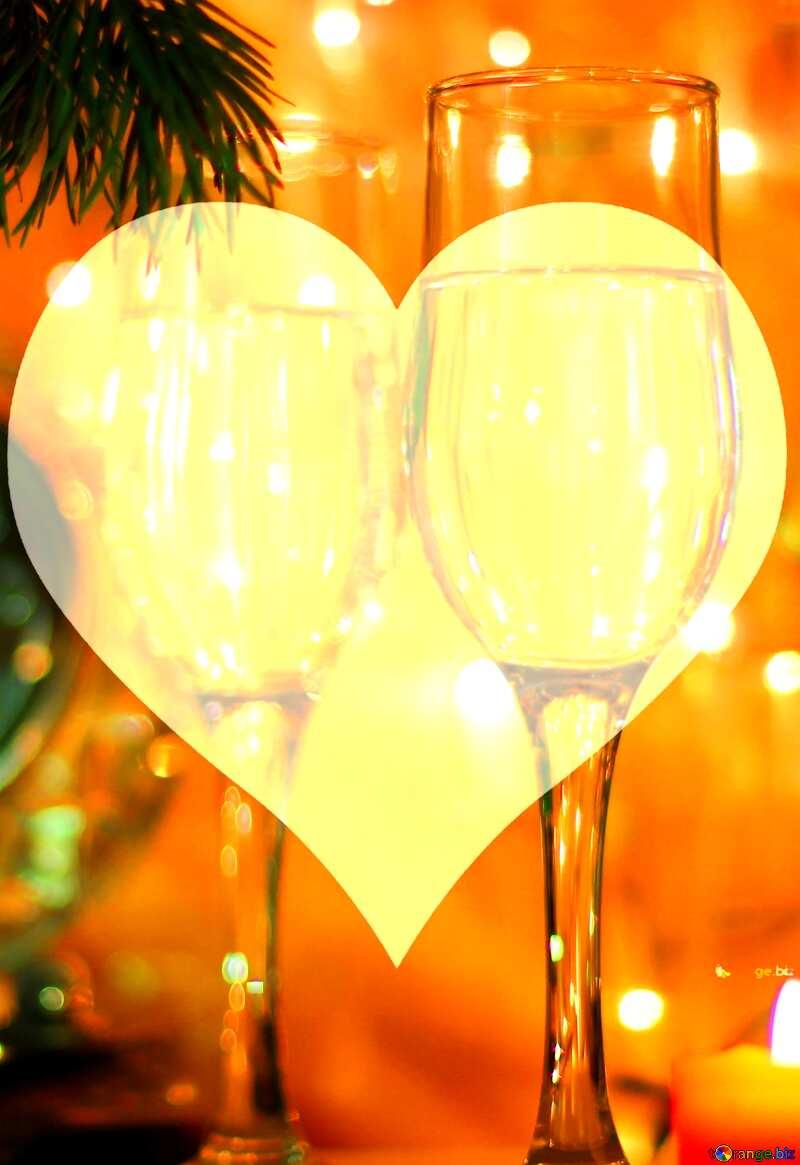 New Year`s Love Heart №24683