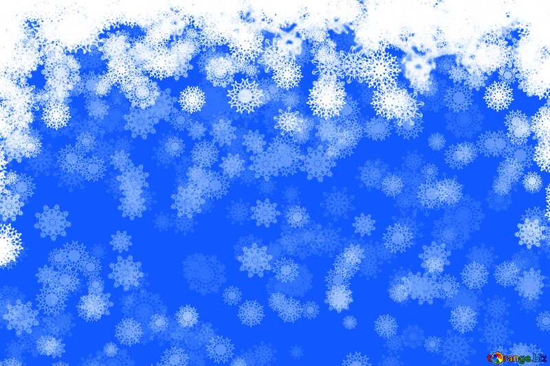 Christmas blue background №40662