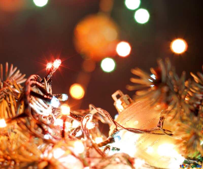 Christmas desktop picture blur frame №17950