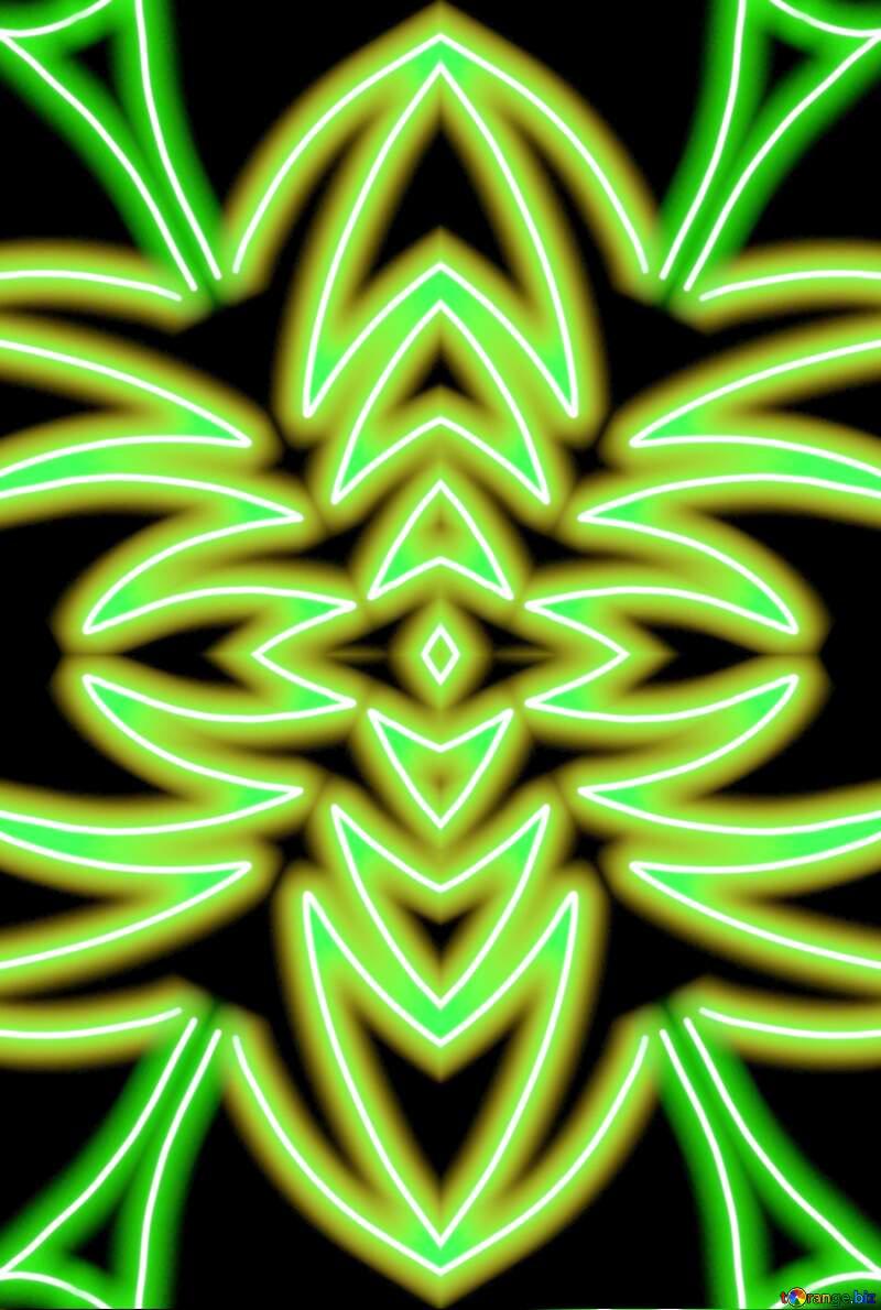 green tree  pattern №40649