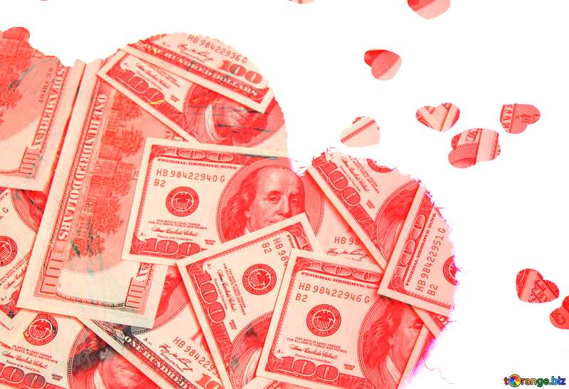 Hearts of moneys №16409