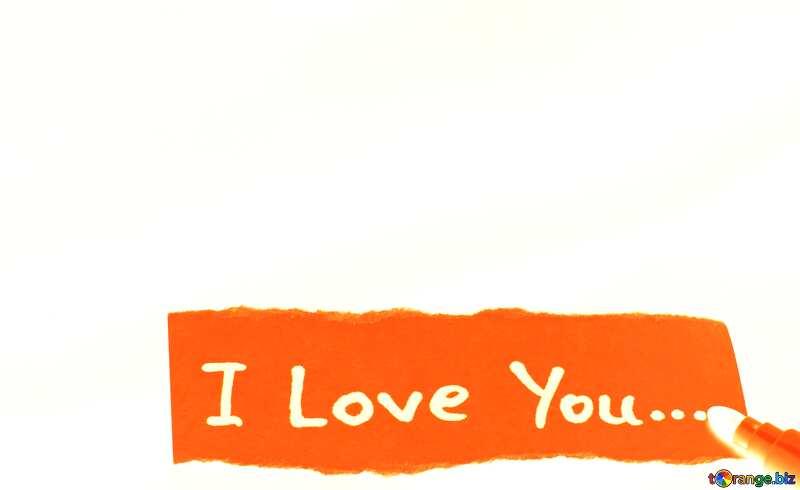Write I love you №17591