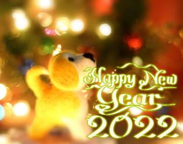 The effect of the mirror. The effect of macro blurring the top and bottom. Happy New Year 2020.