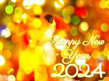 Эффект очень светлый. Очень яркие цвета. Happy New Year 2020.
