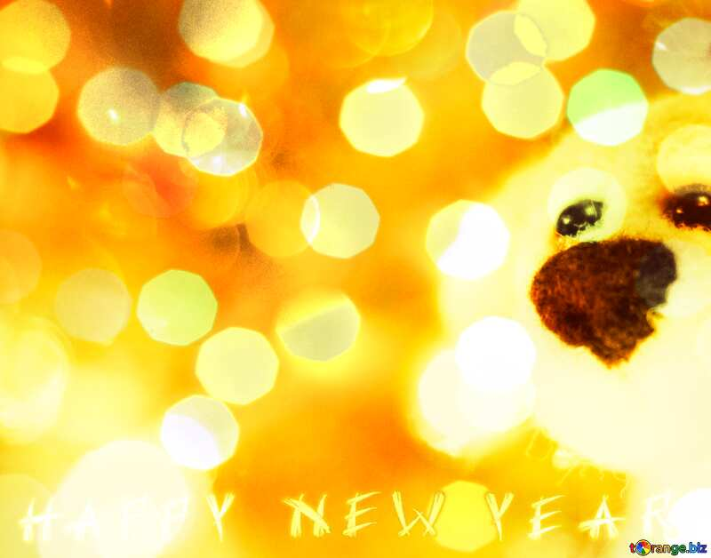 Download free picture Happy new year dog. on CC-BY License ...