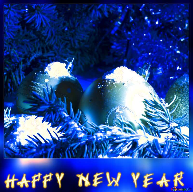 Electronic happy new year card №15370