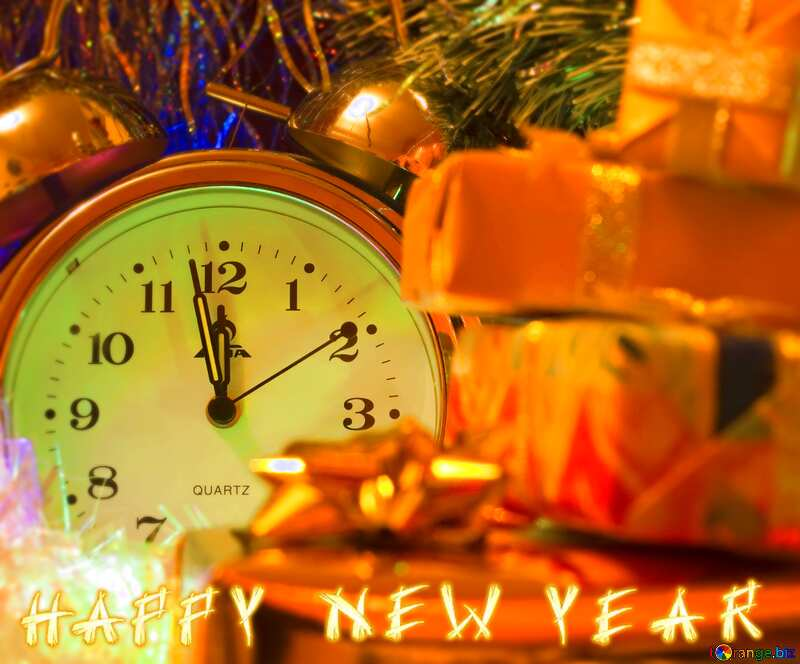 congratulations blur frame background happy new year №6569